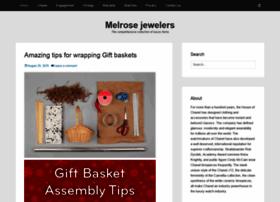 Melrosejewelers.ca thumbnail