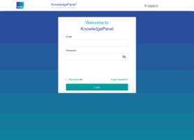 Members.knowledgepanel.com thumbnail