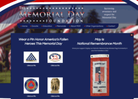 Memorialdayfoundation.org thumbnail