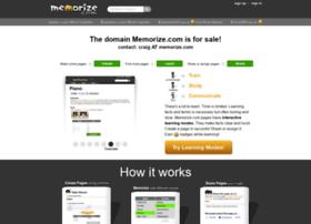 Memorize.com thumbnail