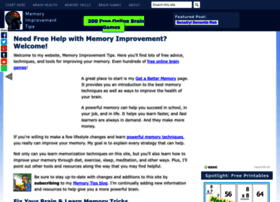 Memory-improvement-tips.com thumbnail