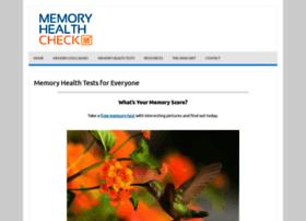 Memorylosstest.com thumbnail