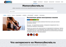 Memorysecrets.ru thumbnail