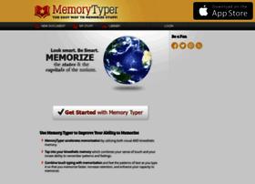 Memorytyper.com thumbnail