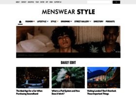 Menswearstyle.co.uk thumbnail