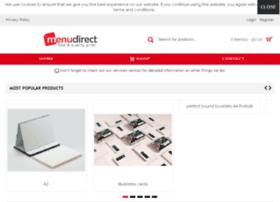 Menudirect.co.uk thumbnail
