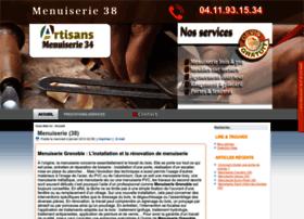 Menuiserie38grenoble.fr thumbnail