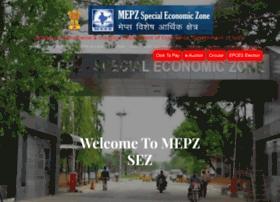 Mepz.gov.in thumbnail