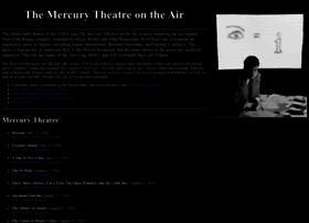 Mercurytheatre.info thumbnail