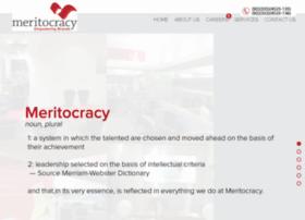 Meritocracyonline.com thumbnail