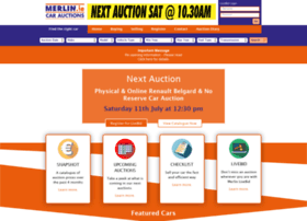 Merlincarauctions.ie thumbnail