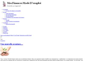 Mes-finances-mode-demploi.fr thumbnail