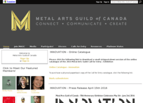 Metalartsguild.ca thumbnail