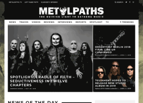 Metalpaths.com thumbnail