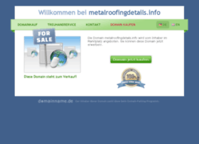 Metalroofingdetails.info thumbnail