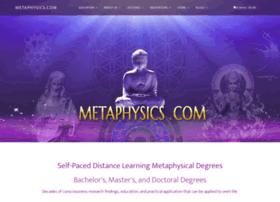 Metaphysics.com thumbnail