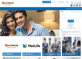 Metcustomer.metlifeportal.co.in thumbnail