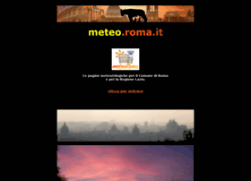 Meteo.roma.it thumbnail