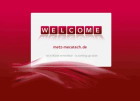 Metz-mecatech.de thumbnail