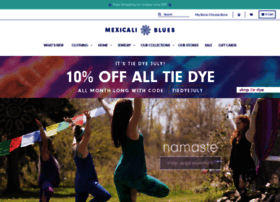 Mexicali Blues An eclectic collection of unique & mindful goods, from tie dyes to🌀 Zen decor. Maine-grown w/ 🌏 global consciousness, sharing the boho love! 💖 landlaw.ml
