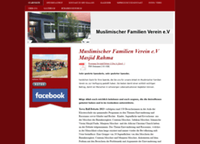 Mfv-masjidrahma.de thumbnail
