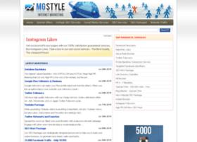 Mgstylez.net thumbnail