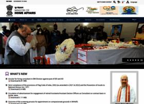 Mha.gov.in thumbnail