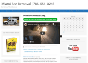 Miamibeeremoval.net thumbnail