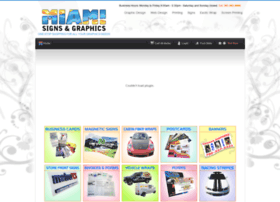 Miamisignsandgraphics.net thumbnail