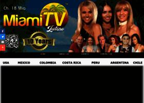 Miamitvlatino.com thumbnail