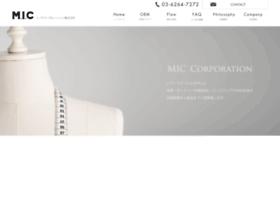 Miccorp.co.jp thumbnail