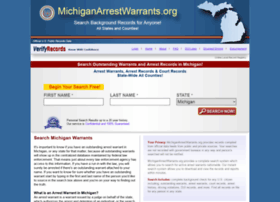 Michiganarrestwarrants.org thumbnail