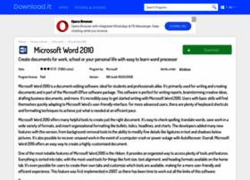 Microsoft-word-2010.jaleco.com thumbnail