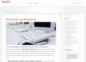 Microsoftcertifications.co.za thumbnail