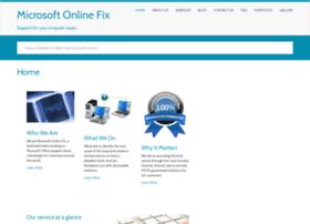 Microsoftonlinefix.com thumbnail