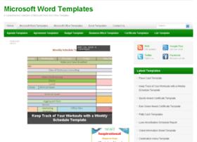 Microsoftwordtemplates.net thumbnail