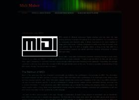 Midimaker.weebly.com thumbnail