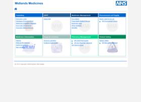 Midlandsmedicines.nhs.uk thumbnail