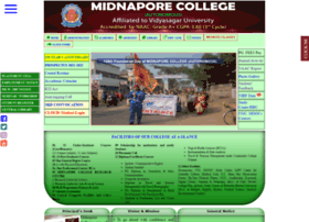 Midnaporecollege.ac.in thumbnail