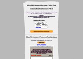 Mikrotikpasswordrecovery.net thumbnail