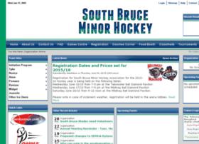 Mildmayminorhockey.ca thumbnail