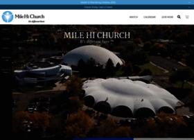 Milehichurch.org thumbnail