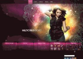 Mileyraycyrus.org thumbnail