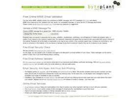 Mimevalidator.net thumbnail