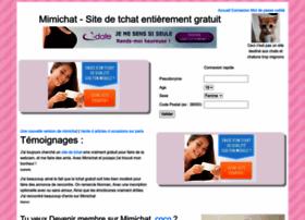 tchat gratuit mimichat membres rencontres francophones net configuration centres interets