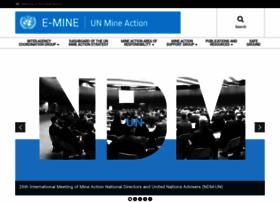 Mineaction.org thumbnail