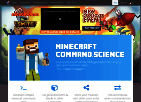 Minecraftcommand.science thumbnail