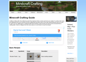 Minecraftcrafting.info thumbnail