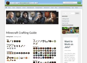 Minecraftcraftingguide.net thumbnail