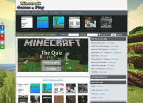 Minecraftgamestoplay.org thumbnail
